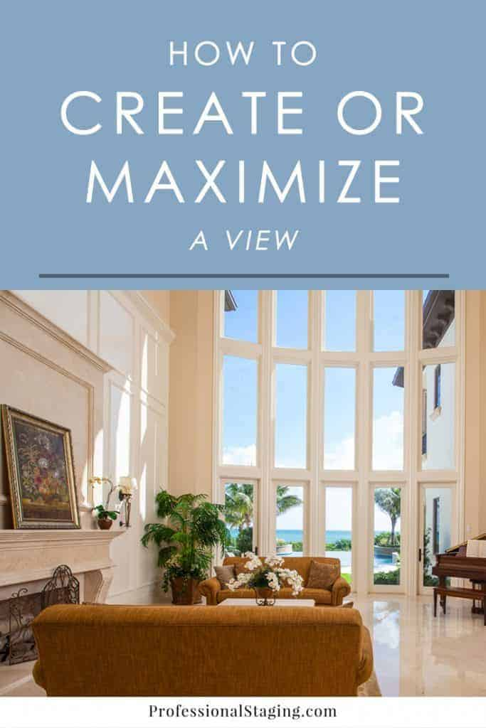 A beautiful view can be a huge asset to a home, so it's important to maximize it if you have one. If you don't, then there are plenty of ways to create one. Here are some tips for both scenarios!