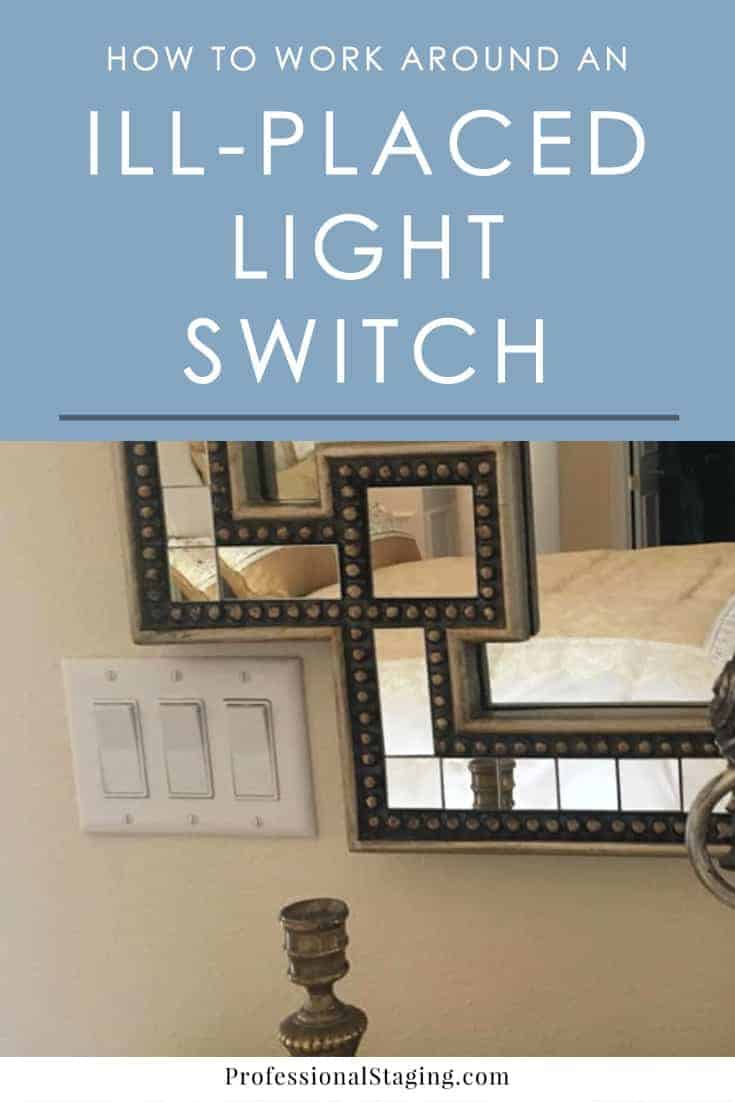 Have a badly placed light switch you aren't sure how to decorate around? Here are some tips and tricks that will help it blend in.
