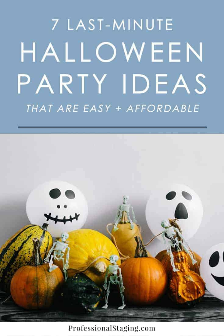 Throwing a last-minute Halloween party and need some inspiration? Check out these easy (and budget-friendly) Halloween party ideas you can put together quickly!