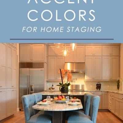 Home buyers respond the best to these 4 accent colors. Click through to find out what they are and how to use them when selling a home!