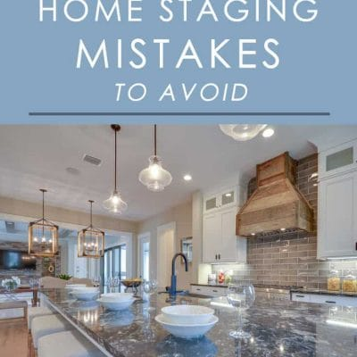 If you're putting your home on the market, make sure you aren't making these common home staging mistakes that can cost you a sale!