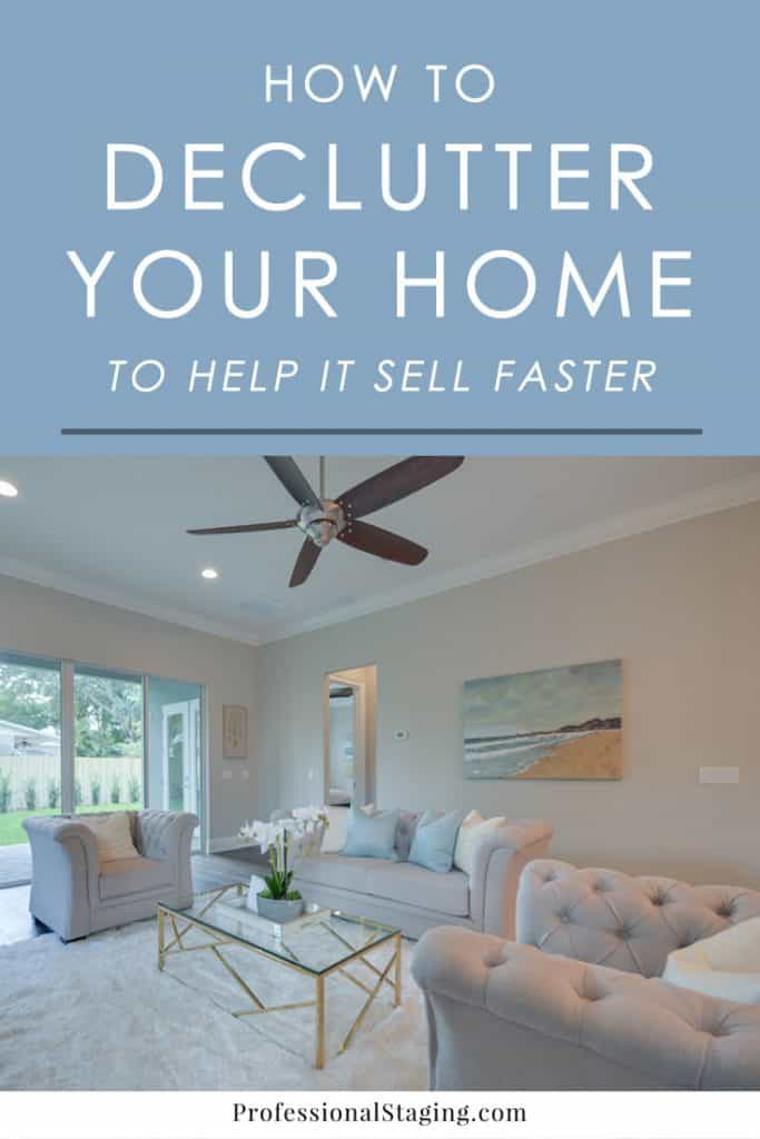 How do you stage a home for sale