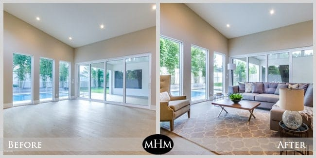 Featured staged listing 2324 randall road professional for Staging a house before and after