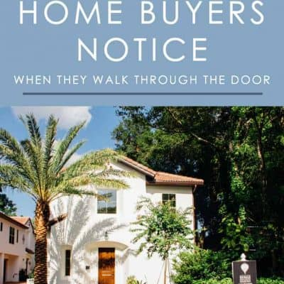 The key to making your home appealing to buyers is to look at it through their eyes. Here are 5 things home buyers notice when they tour a listing.