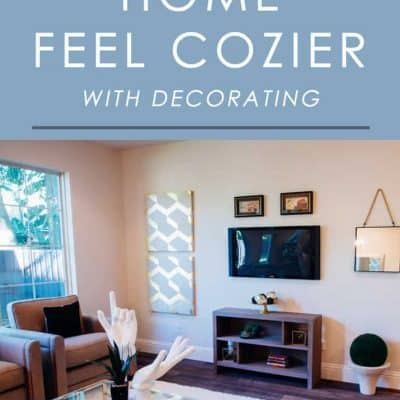 Want to make your home feel cozier for the fall, winter or any other season? Try these easy decorating tips to instantly add some warmth and charm to any room.