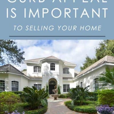 Curb appeal can be one of the biggest factors in selling your home. Here's why you should give it some attention before listing.