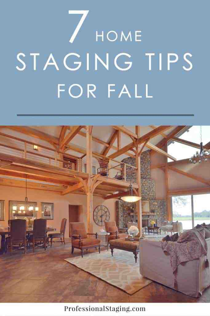 5 home staging tips for fall for Stage your home to sell ideas