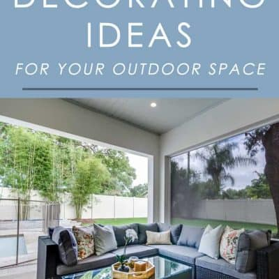 Want to give your outdoor space a touch of fall spirit? Try these easy decorating ideas for the season!
