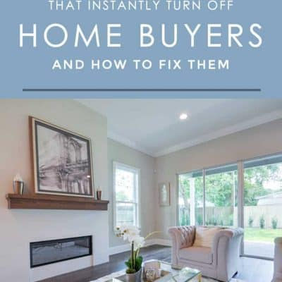 "These 5 things can get your house thrown into the ""no"" pile quicker than quick by potential home buyers. Here's how to avoid these common mistakes so your house sells faster."