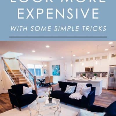 These simple decorating tricks will make your home look more expensive and luxurious without you having to spend a lot of money. Try them out!