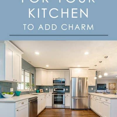 Give your kitchen an extra dose of charm with these easy ideas for kitchen decor that are perfect for both decorating and home staging.