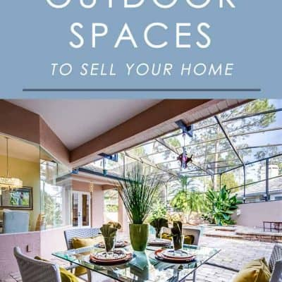 Your outdoor area could be as big a factor in selling your home as the interior. Here's how to stage it to make it appeal to more home buyers!