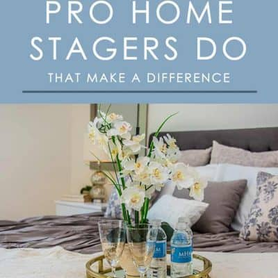 Professional home stagers have a way of making a home more appealing to buyer. Here are 6 home staging tricks that make a big difference.