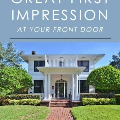 First impressions are important, especially when selling a home. Follow these home staging tips for curb appeal to impress buyers as soon as they walk up to the front door!