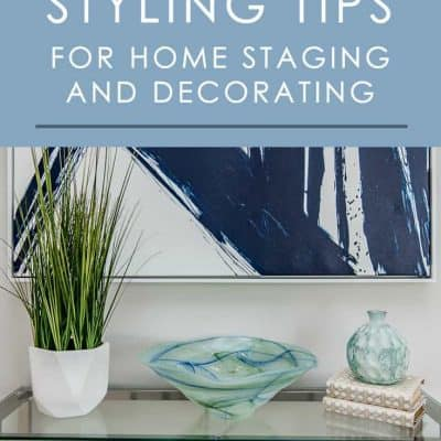 Add character and charm to any space in your home by decorating with books. Try these easy ideas whether you're staging a home for sale or decorating it for yourself.