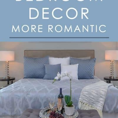 Want to make your bedroom look and feel more romantic? Try these easy decorating tips you can implement right away for a big change.