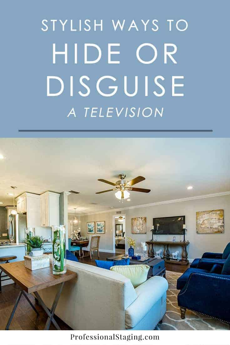 7 Stylish Ways To Hide Or Disguise A Television