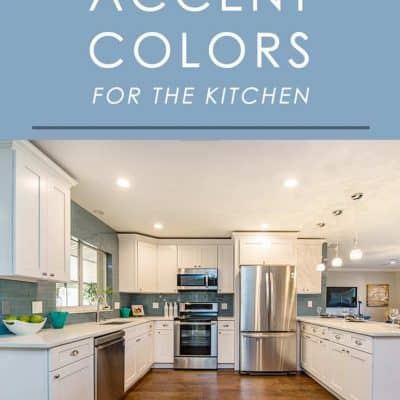 The right accent color can bring a kitchen to life. Here are 5 of our favorite kitchen accent colors that always look fantastic!