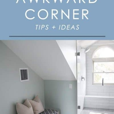Have an awkward corner in your home you're not sure how to decorate? Try one of these ideas to make an awkward corner cozy and functional.