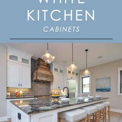 Want to make your kitchen look great and have great value for resale? White kitchen cabinets are the way to go. Here are 5 major benefits and why they're such a smart choice.