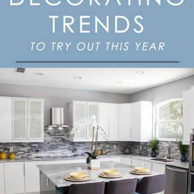 Want to try something new in your decorating this year? Check out the trends expected to be big in home decor in 2018!