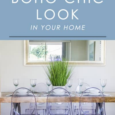 Love the relaxed, casual vibe of bohemian decor? Follow these easy tips for incorporating a boho chic look into your home decor.