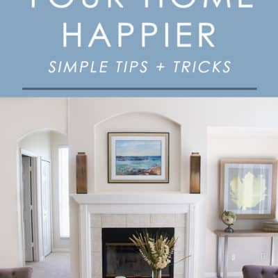 Want to instantly give your home a happier, most uplifting vibe? Follow these simple tips that don't cost a dime and can easily be applied to any home.