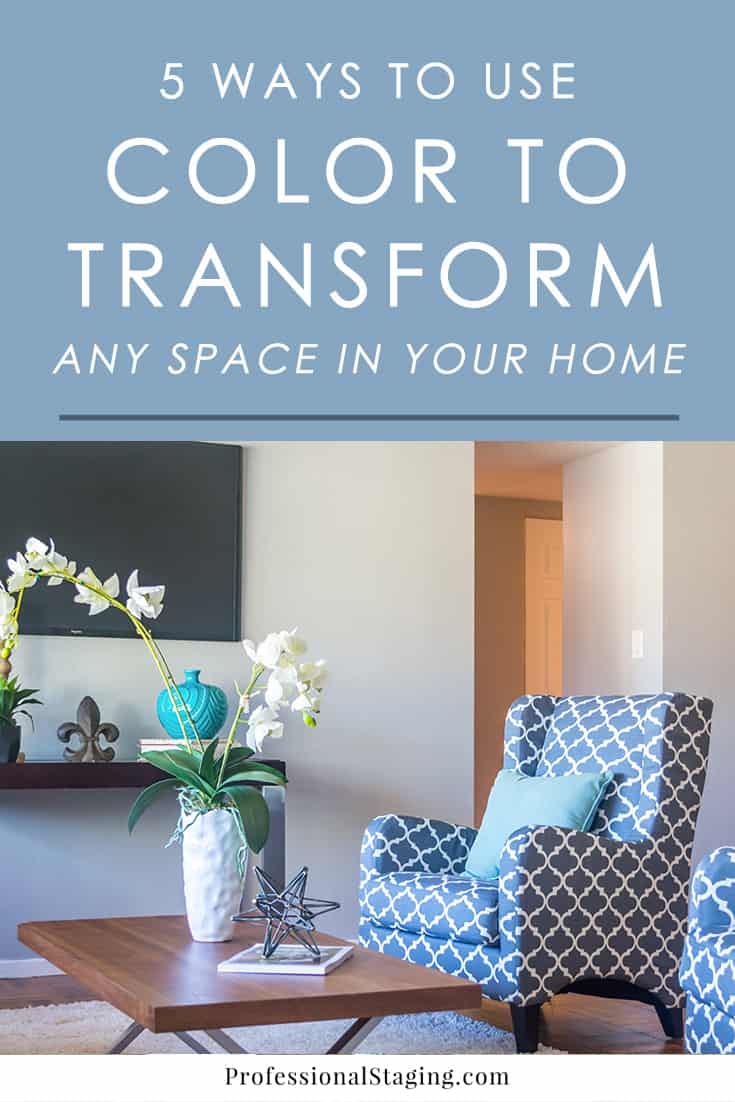 Color has some of the biggest impact on a space. If you want to transform your home, color is one of the quickest and most effective ways to do it. Follow these tips to give you some ideas.