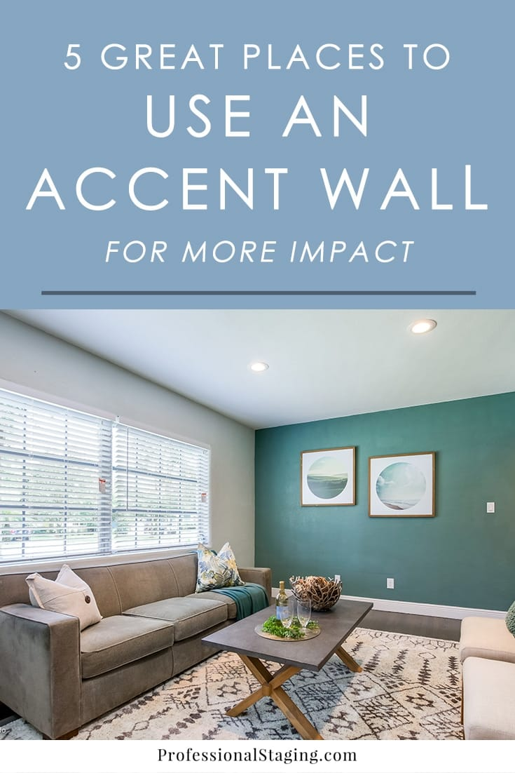 What are some of the best places to use an accent wall in a home? We've put together five of our favorite uses for it that always manage to transform the space for the better.