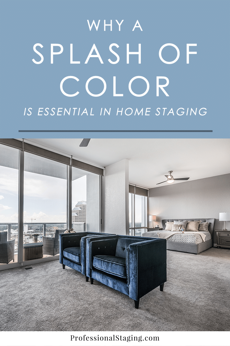 In home staging, it's important to neutralize a home so that it appeals to the widest range of buyers possible. However, that doesn't mean making it void of all charm and personality. A neutral palette is just the first step. Color plays an important role in the process of selling a home faster and for top dollar.