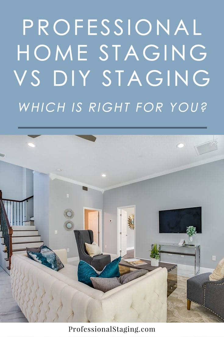 In today's market, one of the best marketing strategies to sell your home fast and for top dollar is home staging. Once you've decided to take advantage of it, though, there's an important question that pops up: professional staging or do-it-yourself home staging?
