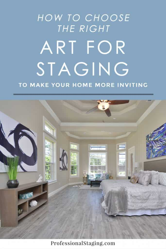 Art for Home Staging