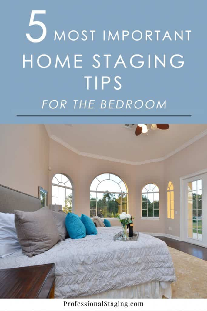 Make sure home buyers fall in love with the bedrooms in your home with these quick and easy home staging tips.
