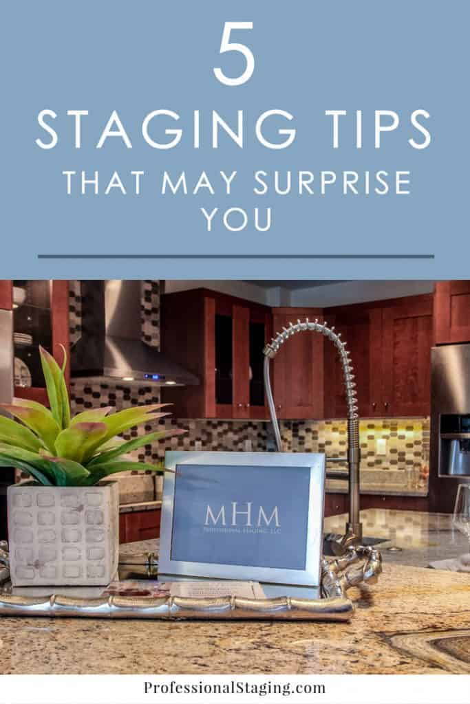 You may already know a lot of the most common home staging tips to help you sell your home faster, but there are a few lesser-known but very effective tricks that may surprise you.