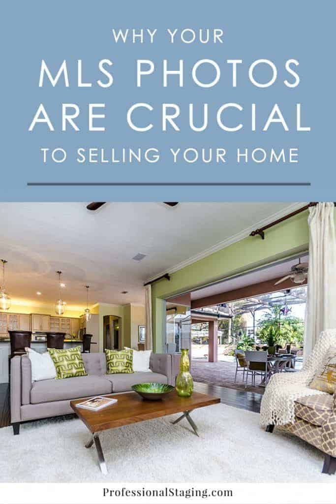 Today, most home buyers shop online first before going to see homes in person. The first impression of a home on the MLS dictates whether they want to take the time to see it with their realtor. Here are some reasons why your MLS photos are crucial to selling your home.