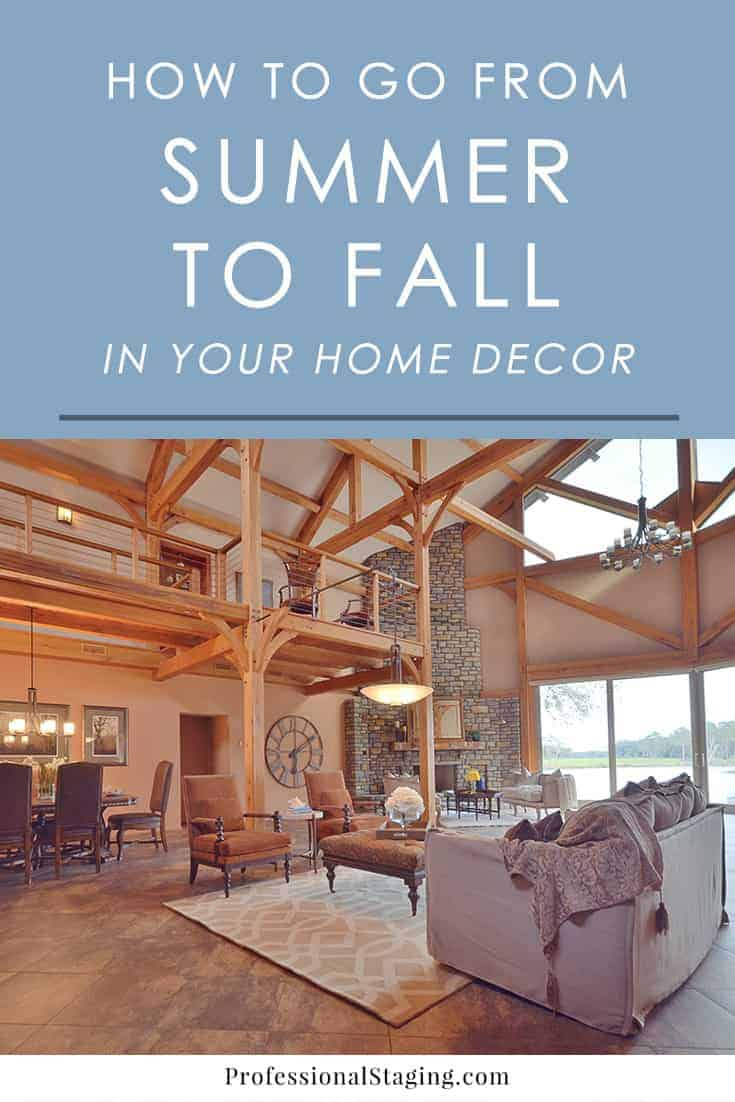 Ready to embrace fall in your home? Here are some inspiring ways to transition your home decor into fall with just a few simple changes.