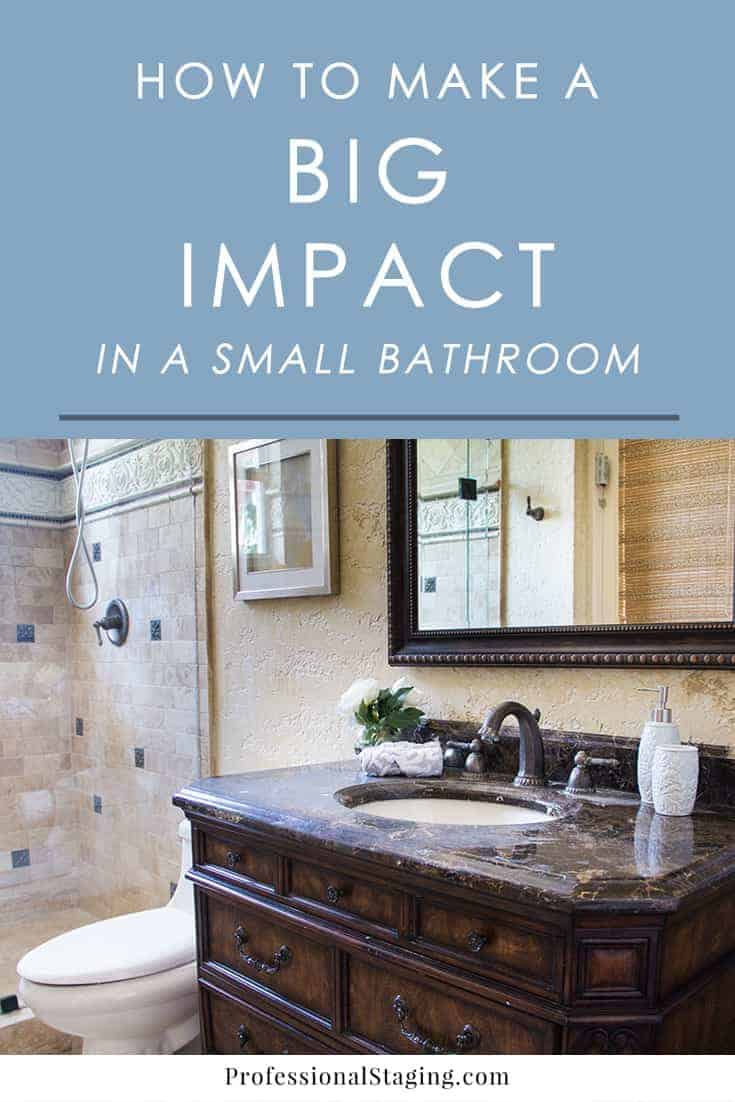 Stumped on how to make the most of a small bathroom? Try these easy decorating ideas to make your small bathroom more functional and stylish.