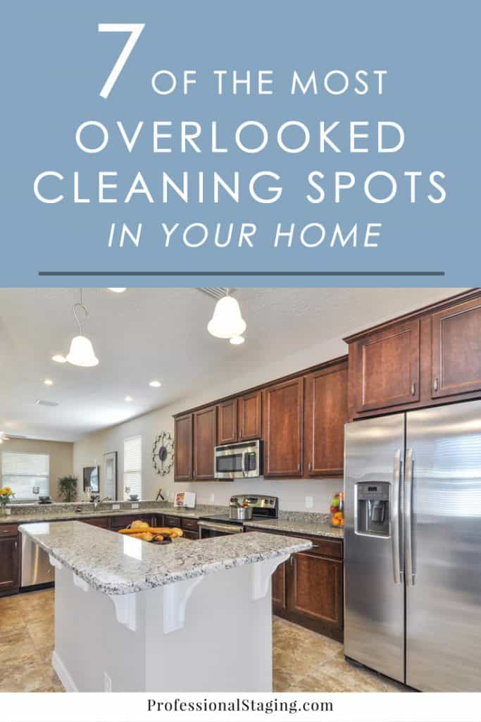 Are you sure you're getting EVERY part of your home clean? Some of these spots most people miss may surprise you!