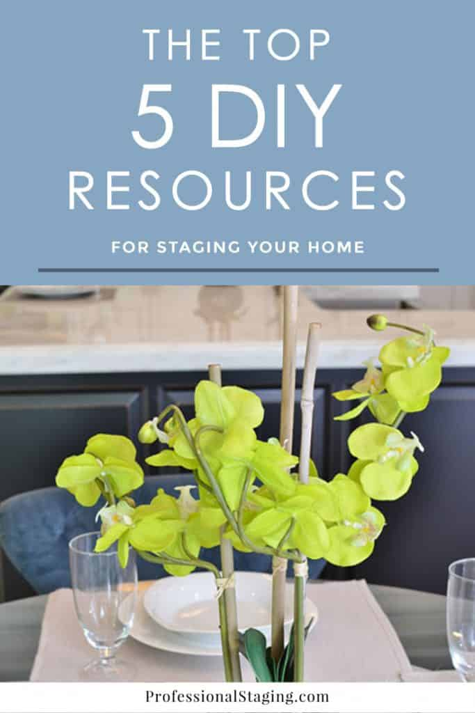 Want to make your home appeal more to buyers without spending a lot? Check out these 5 budget-friendly home staging resources!