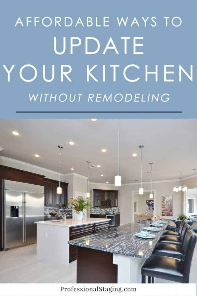 Want to update your kitchen without breaking the bank? Check out these easy tricks for giving your kitchen a facelift without the hassle of a full remodel.