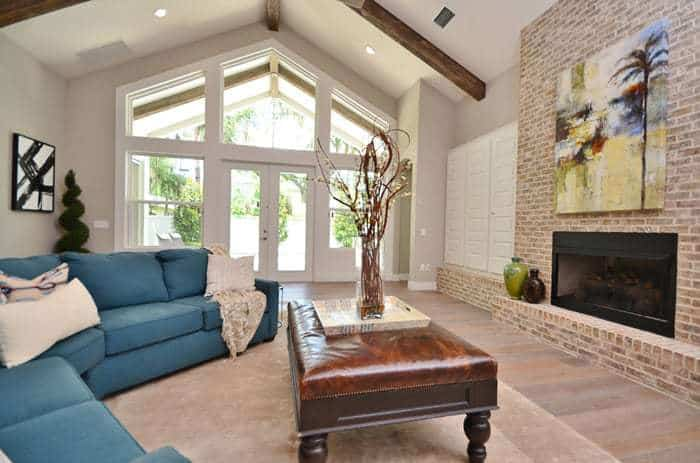 Home Staging Before Afters, Living Room Staging A House Before And After