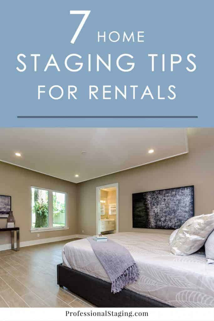 Make your rental property stand out from the rest and inspire confidence in new tenants with these easy home staging tips for rentals.