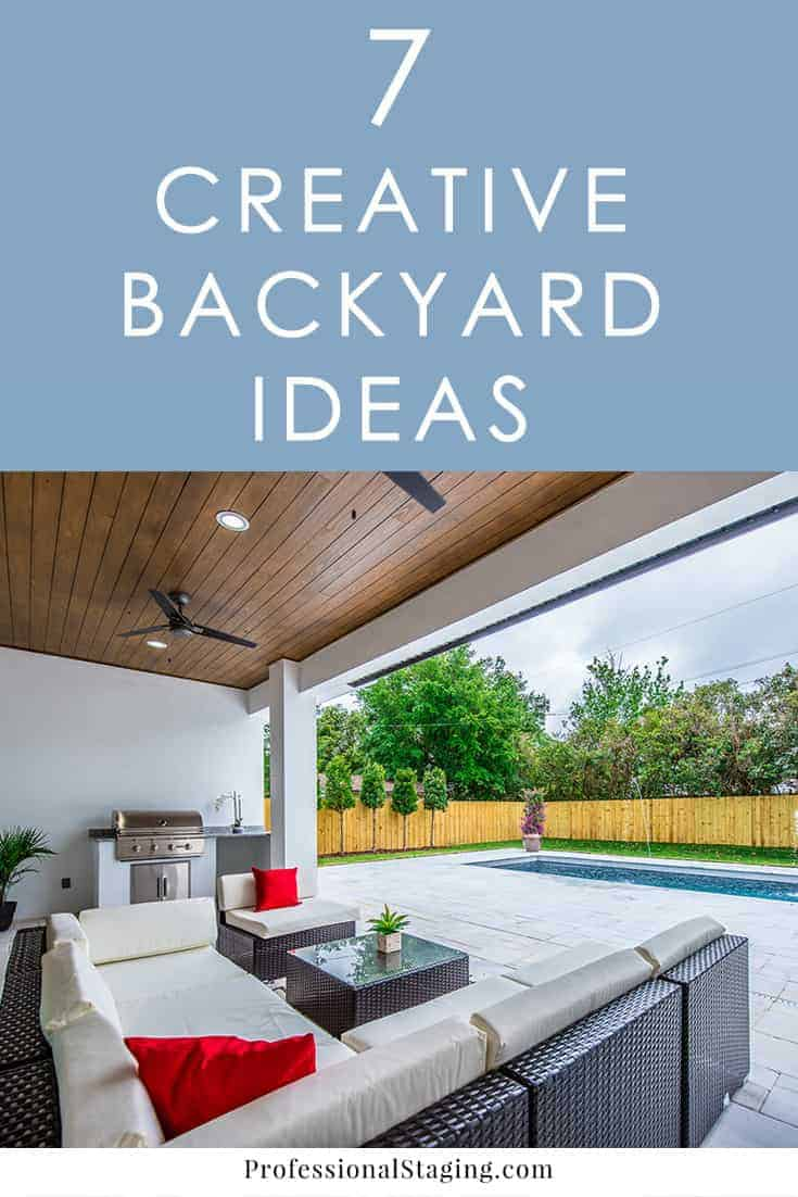 Make your backyard the go-to spot for the summer with these 7 easy, budget-friendly backyard ideas you can implement quickly!