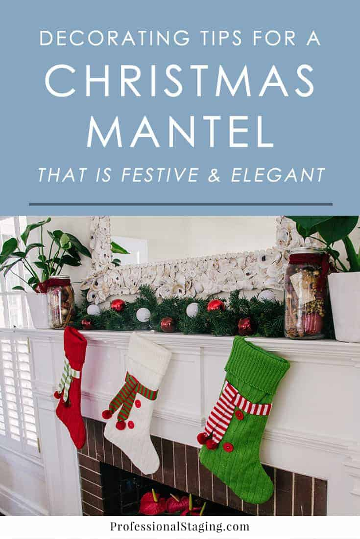 Put together the perfect Christmas mantel that is as elegant as it is festive with these simple and easy seasonal decorating tips for your fireplace.