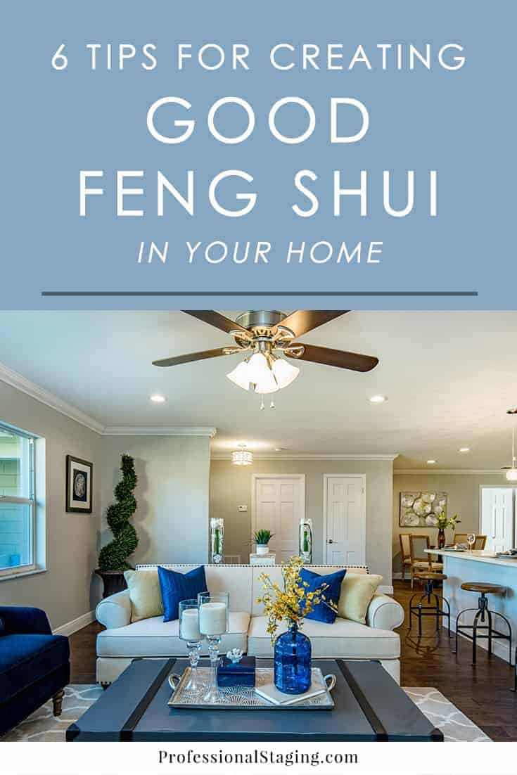 Improve the look and feel of your home with these easy tips from the ancient practice of feng shui.