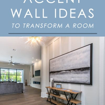 """Looking for a way to quickly transform any room in your home with some """"wow"""" factor? Try an accent wall! Here are 7 ideas that always look great."""