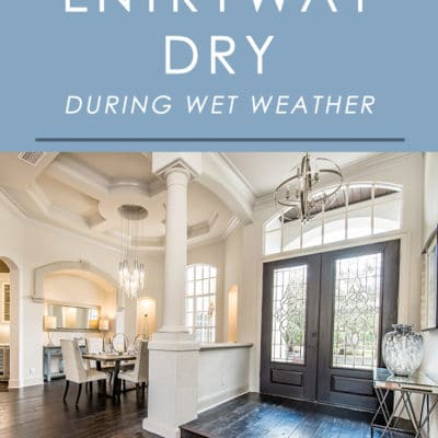 Is your entryway taking a beating when it comes to wet-weather grime and water? Follow these easy tips to make your entryway durable and functional for wet weather.
