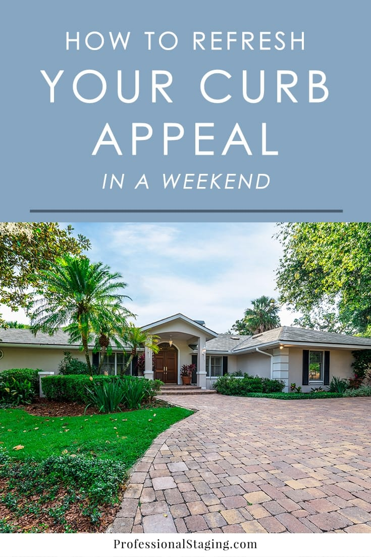 Want to quickly freshen up your curb appeal? Follow these tips on some easy but very effective ways to make your curb appeal look better in just one weekend.