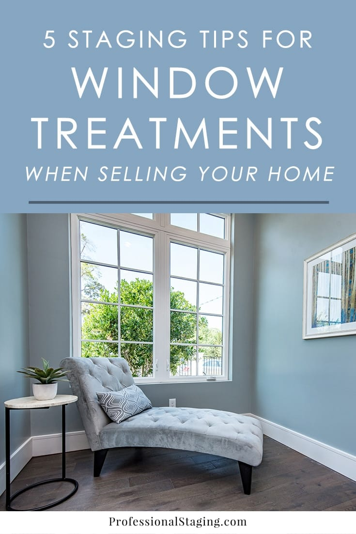 The wrong window treatments could be turning buyers off and not doing your home justice. Try these home staging tips to make your home more appealing to buyers.