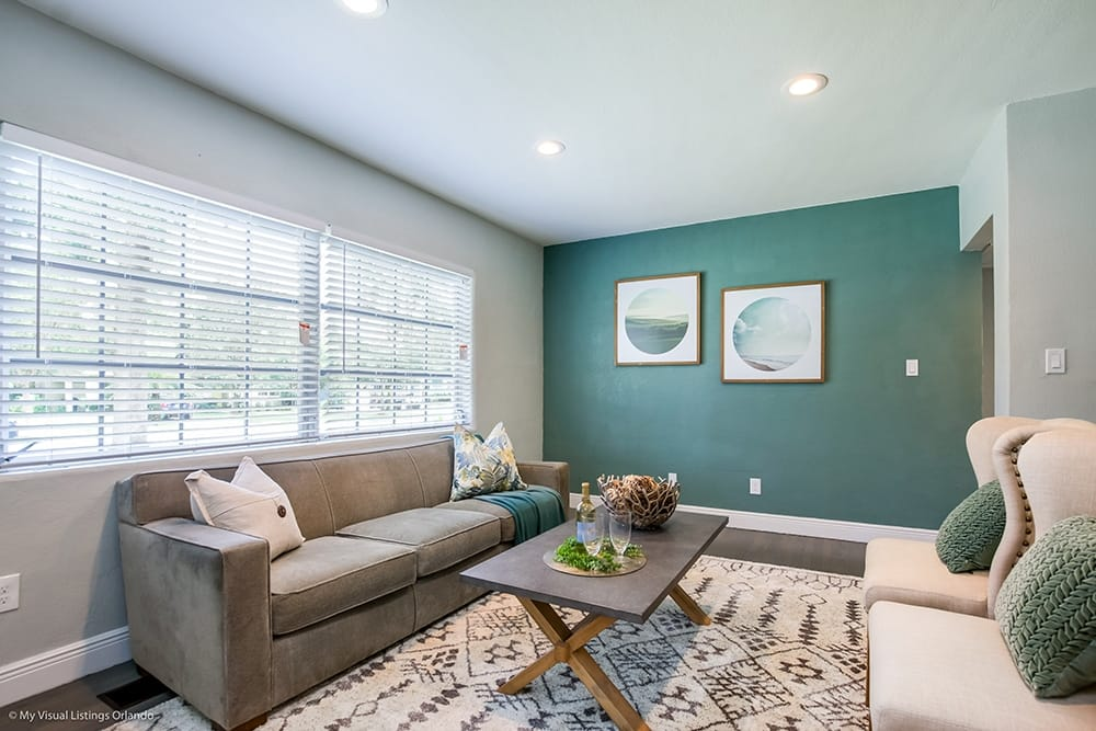 5 Great Places To Use An Accent Wall, Accent Wall Living Room